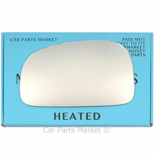 Pour HYUNDAI SANTA FE 00-05 Gauche Côté Passager Plat Electric wing mirror glass