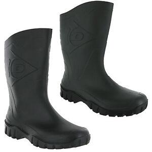 Wide-Calf-Wellingtons-Dunlop-Half-Length-Wellies-Unisex-Mens-Womens-Boots-UK4-12