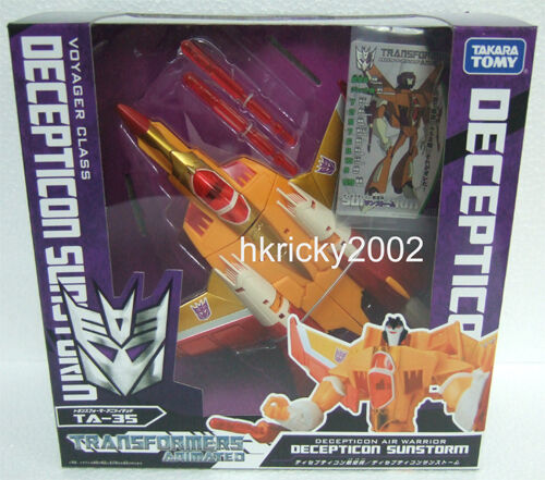 Takara Transformers Animated TA-35 Decepticon Sunstorm Action Figure