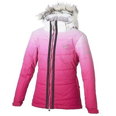Girl/'s dare2b Trinket Pink Waterproof and Breathable Ski Wear//Winter Jacket.