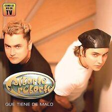 Que Tiene de Malo by Alberto Y Roberto (CD, Mar-2003, Disa)