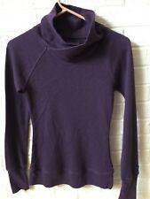 f3101d450a92c6 Columbia Women s Size Xs Long Sleeve Henley Waffle Knit Top Omni Wick Purple