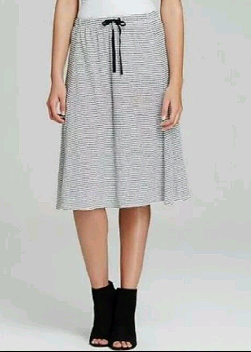 NWT Eileen Fisher Organic Linen Jersey Skirt, Size XS,