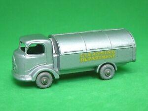 Matchbox-Lesney-No-38a-Karrier-Bantam-rechazar-Truck-raro-Plata