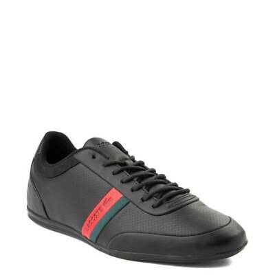 Mens Lacoste Storda Athletic Shoe Black