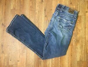 BKE-by-Buckle-Women-039-s-Dakota-Med-Wash-Bootcut-Jeans-Badge-Meas-as-Size-31