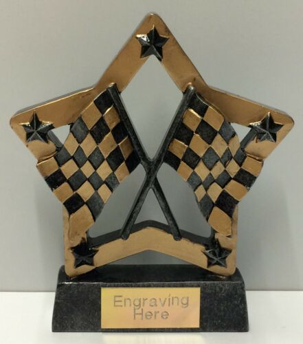 FREE P/&P On Additional Trophies FREE Engraving Karting and Motor Trophy