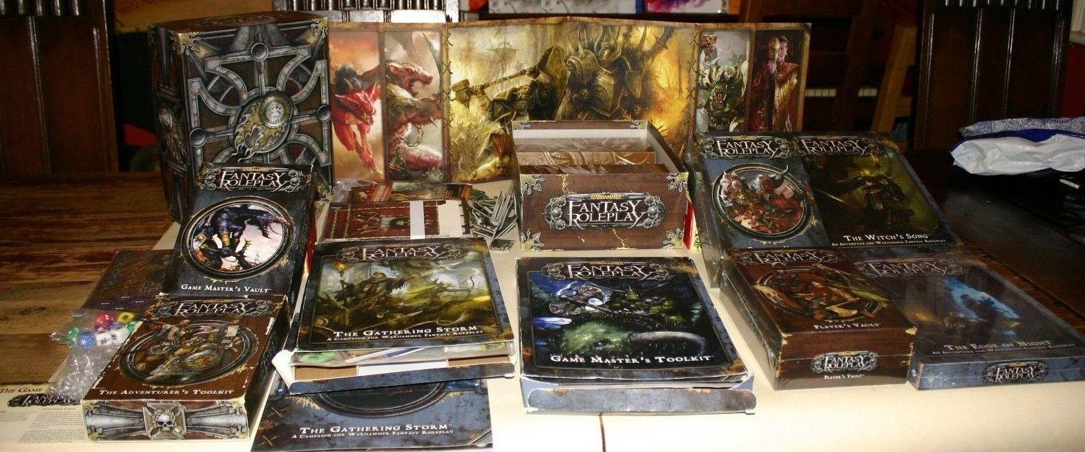 Warhammer Fantasy Role-Playing Game 3rd edition Fantasy Flight Games