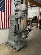 Bridgeport Milling Machine 42 Tale Dro And Power Feed