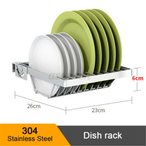 36/'/' 2 Tier Stainless Steel Home Kitchen Over Sink Dish Bowl Drying Rack Drainer