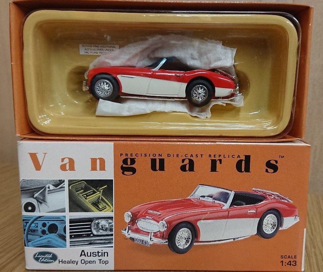 Corgi VA51000 Austin Healey Open Top Red & White Ltd Ed No. 0004 of 5200