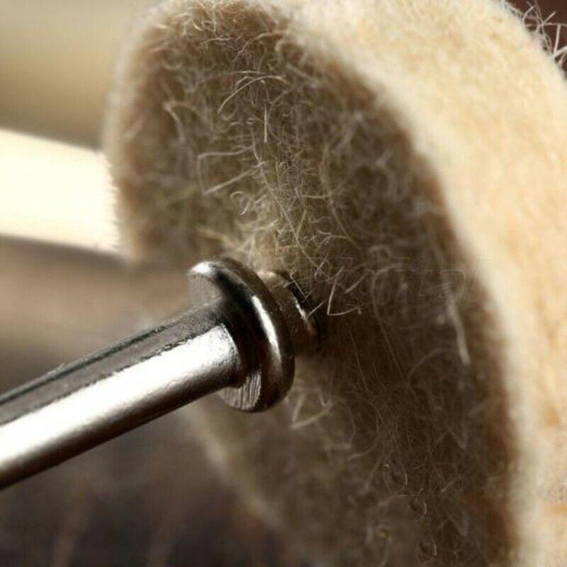 Joyas polierscheiben madera beige 50pcs lana para electricidad 2 perforador aditivos