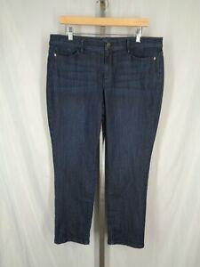 J-Jill-Denim-Authentic-Fit-Slim-Ankle-Jeans-Size-14P
