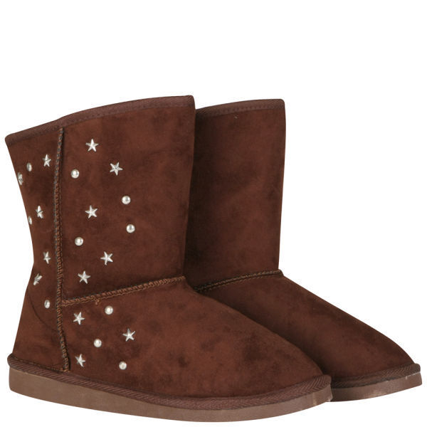 CHOCOLATE BROWN SUEDE BOOTS FROM TOKYO ANGEL IN SIZES 4 TO 8 BNIB