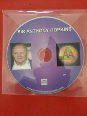 AA CD ANTHONY TONY HOPKINS CD ALCOHOLICS ANONYMOUS DISC GREAT SPEAKER