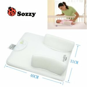 Newborn Anti Roll Pillow Sleep Fixed Baby Care Prevent Flat Head Cushion RY