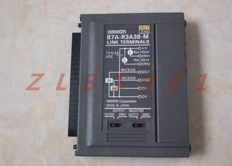 ONE USED- OMRON terminals B7A-R3A38-M