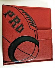 Pen Tab Pro Football 3 Ring Binder Faux Leather