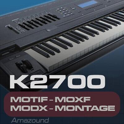 ELECTRIC PIANO SAMPLES for YAMAHA MOTIF ES XS XF MOXF MODX MONTAGE KEYMAPS PLAY