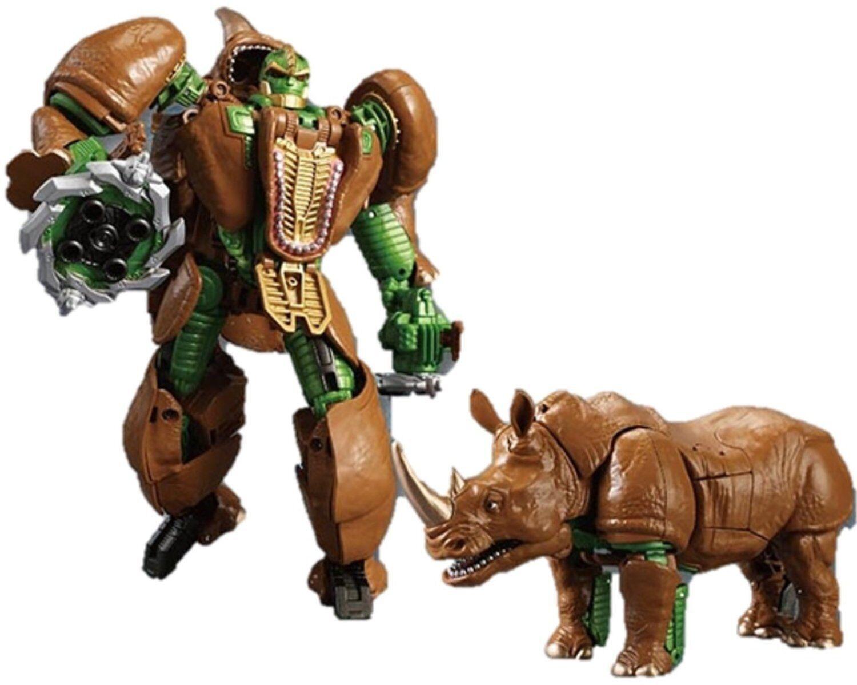 muchas concesiones Takara leyendas lgex Transformers Transformers Transformers Fest 2016 exclusivo Beast Wars Rhinox Nueva  para barato