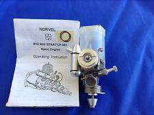 New Norvel Big Mig Startup C/L .061 Sport Engine - BS6 (NIB)