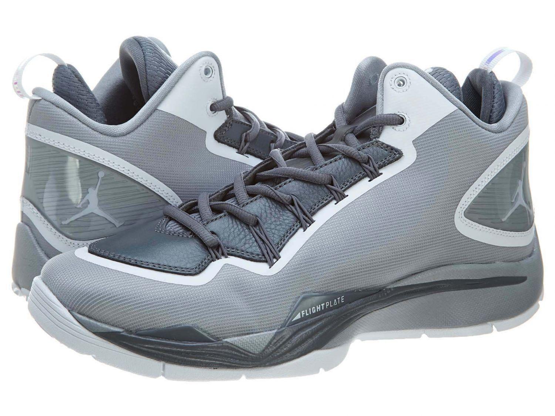 8bf097f745317 Men's Jordan Super.Fly 2 PO Wolf Grey/White/Cool Grey Sizes 8-12 NIB  645058-003