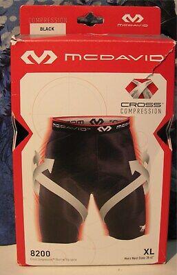 McDavid Cross Compression Short men tights shorts new white black red 8200-WHT