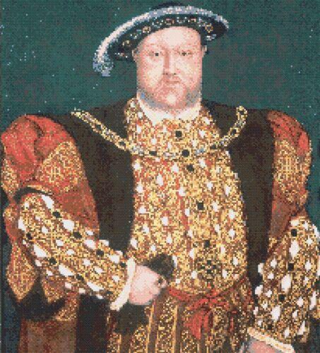 Tudor Kings /& Queens-Enrique VIII-tabla De Punto De Cruz