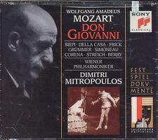 Dimitri Mitropoulos MOZART Don Giovanni CD NEW Vienna Philharmonic