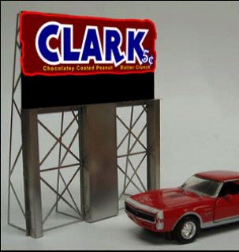 Miller Engineering Light Works USA 2981 Clark Bar Billboard O, S, & HO