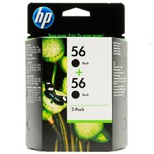 HP Original 56 2-Pack Black Ink Cartridges For HP Printers 1355 2105 2108 BNIB