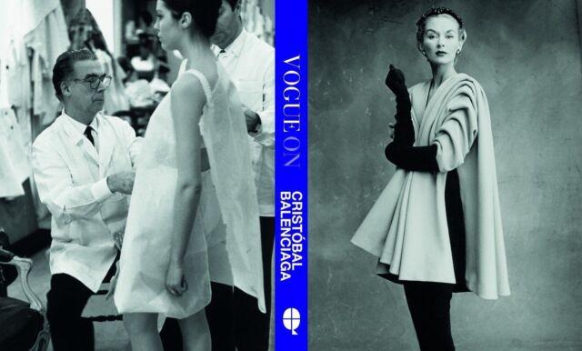 Vogue on Cristobal Balenciaga (Vogue on Designers),Susan Irvine,Excellent Book m