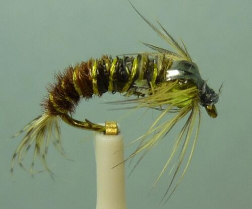 ~ Choose Patterns Sizes and Qty ~ Artflies Bead Thorax Nymph Flies