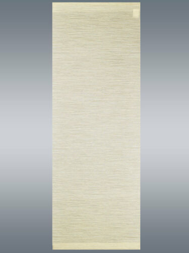 """Moderner Schiebevorhang Flächenvorhang """"Marian"""" beige mit Profil /& Gardinenband"""