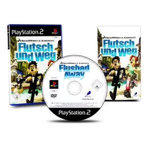Playstation-2-PS2-Jeu-Flutsch-et-Weg-Emballage-D-039-Origine-avec-Manuel