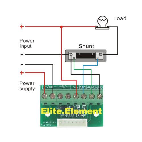Programmable Controller Combo Meter 0-200V 0-200A Volt AMP Watt Amper-Hour Timer