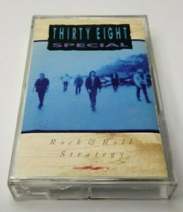 38-Special-Rock-amp-Roll-Strategy-Cassette-Tape-1988-A-amp-M-Records-CS-15218