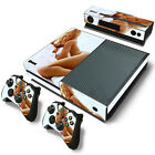 Sexy Girl Vinyl Decal Skin Sticker for Xbox One Console & 2 Controller & Kinect