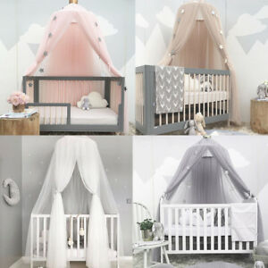 Dome-Bedding-Girl-Princess-Mosquito-Net-Baby-Bed-Canopy-Tent-Curtain-Room-Decor