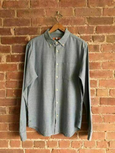 Alex Mill Mens Chambray Shirt, Size Medium - image 1