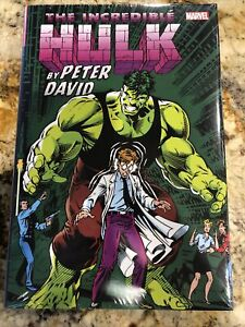 The Incredible Hulk By Peter David Omnibus Vol 2 DM Variant Brand New OOP Marvel