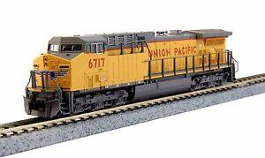 ESCALA-N-KATO-Locomotora-diesel-GE-ac4400cw-Union-Pacific-176-7037-NEU