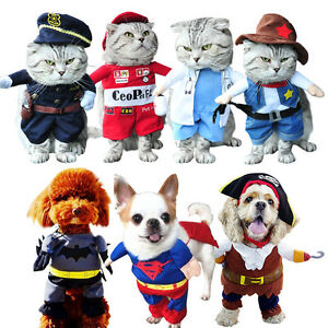 Pet-Dog-Cat-Costume-Suit-Clothes-Costumes-SuperHero-Police-Party-Halloween-Dress