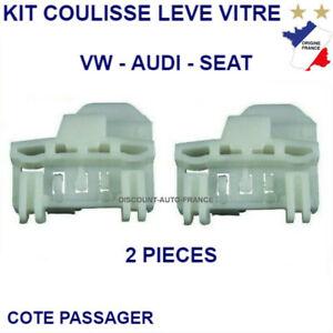 Pour VW Polo 6N Kit Réparation Lève-vitre avant Droit