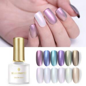 BORN-PRETTY-6ml-UV-Gel-Polish-Pearl-Shell-Chameleon-Shimmer-Nail-Art-Soak-Off
