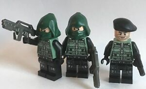 original-LEGO-parts-Star-Wars-3-SPECIAL-FORCES-SOLDIERS-CUSTOM-weapon