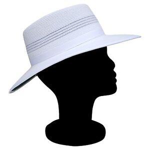 REO Headwear Camelia Ladies Sports White Summer Hat Turn Up Brim S ... 274f2c9291c