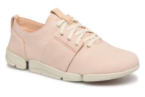 señoras rosa cordones cómodos casuales nuevas son Las y color 6 de cómodos Sz con planos Clarks suave zapatos f15WwqHWAz