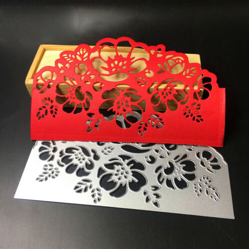 New Lace Flower Edges Metal Cutting Dies Scrapbooking Stamping Craft Dies 2019