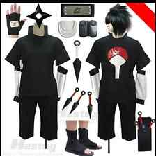 Anime Naruto Uchiha Sasuke Cosplay Costume whole Suits & weapons